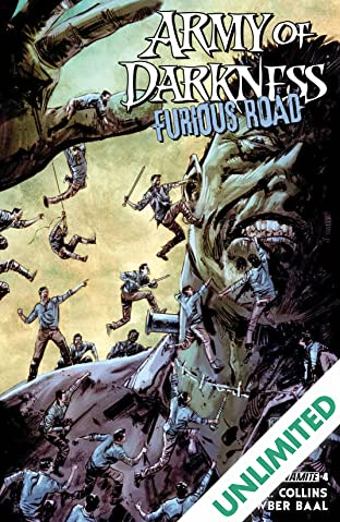 Army Of Darkness: Furious Road #4: Digital Exclusive Edition